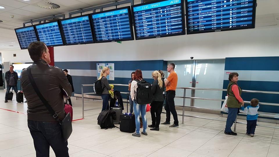 Аэропорт им. Вацлава Гавела,  Фото: Ондржей Томшу