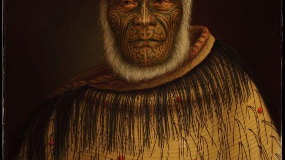 Маори Готфрида Линдауэра,  Фото: Auckland Art Gallery