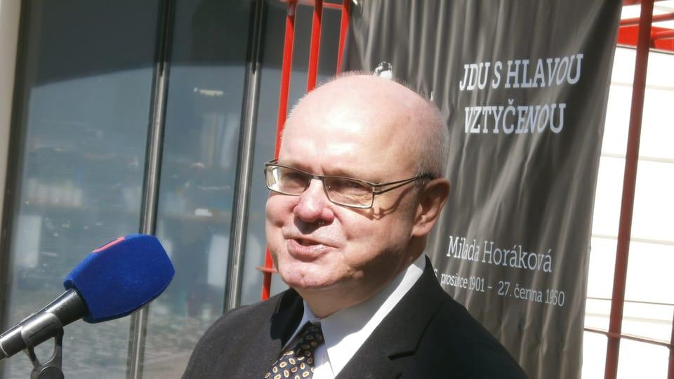 Петр Марек,  организатор движения «Без коммунистов»,  фото: Игорь Будыкин