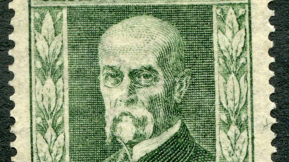 Томаш Гарриг Масарик,  фото: Почтового музея Праги