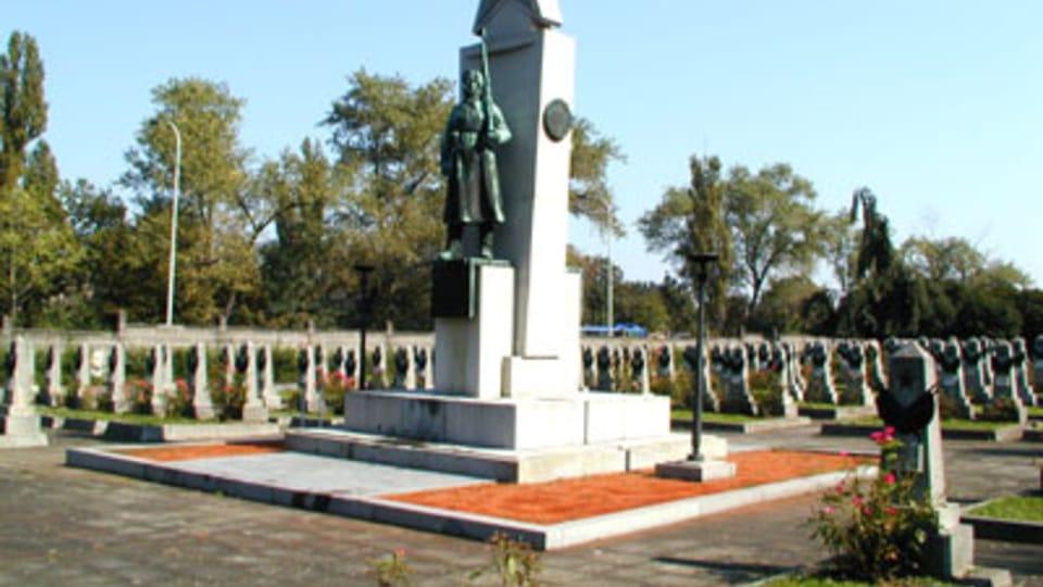На пражском Ольшанском кладбище