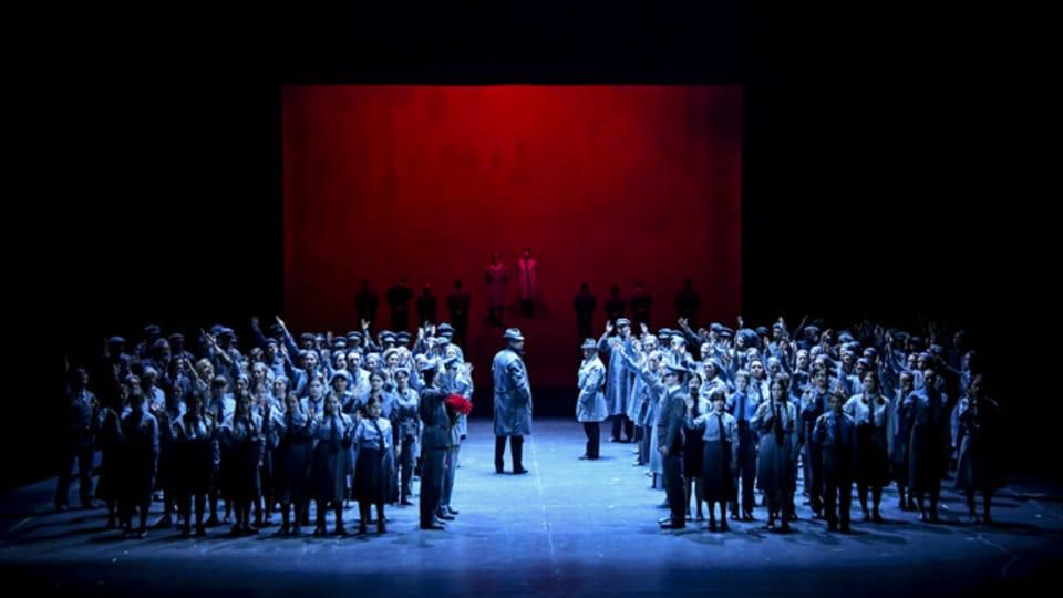 Постановка оперы в Национальном театре Брно,  Фото: Národní divadlo Brno