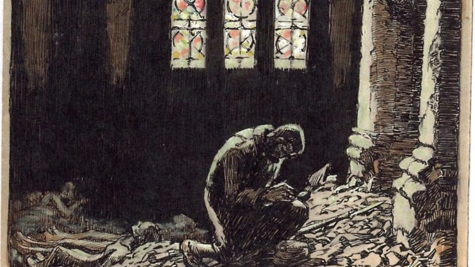 Франц Грусс: «Сибирь»,  1915  (Фото: Либерецкая галерея)