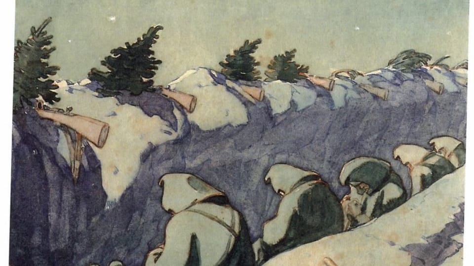 Франц Грусс: «Галич»,  1915  (Фото: Либерецкая галерея)