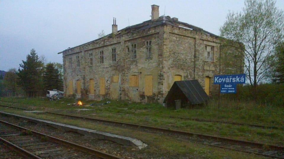 Бывший вокзал Коваржска,  Фото: Штепан Махачек