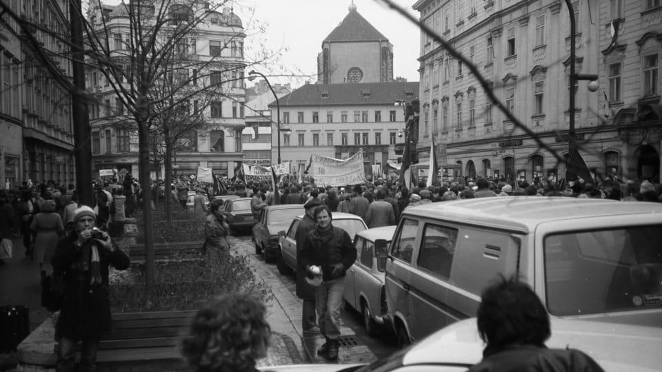 Бархатная революция,  фото: Josef Šrámek ml.,  CC BY 4.0