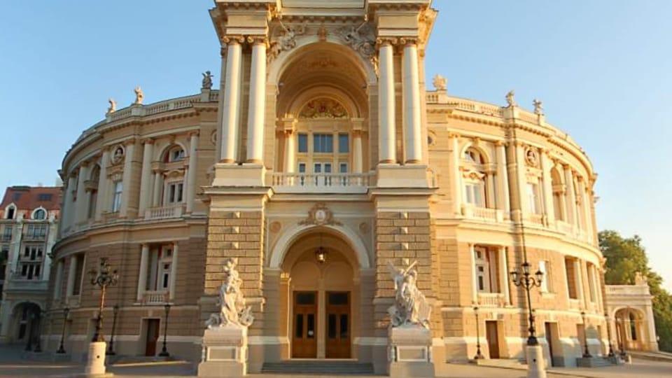 Одесский оперный театр сегодя,  фото: открытый источник
