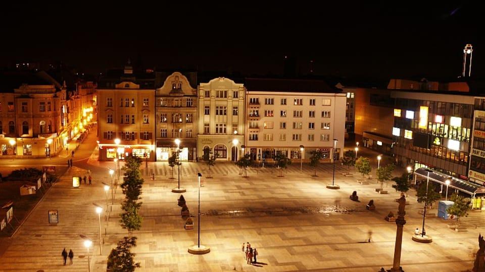 Острава,  площадь Масарика,  Фото: LabBrab,  CC BY-SA 4.0