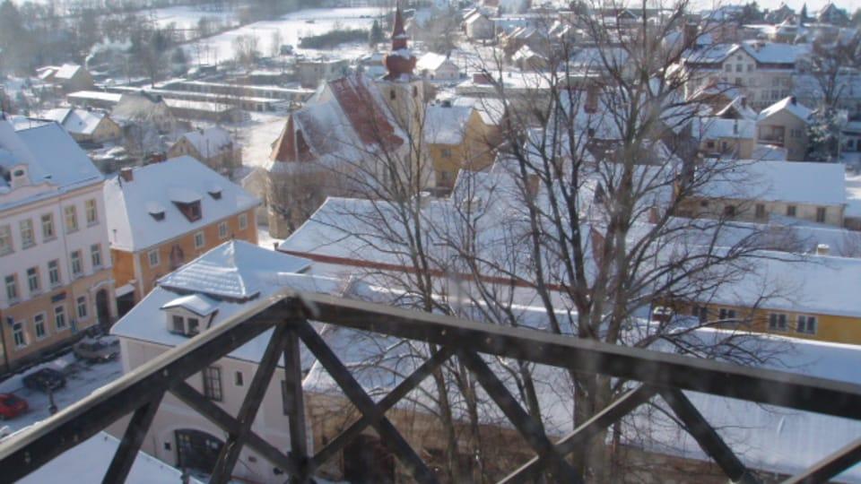 Замок Побъежовице в наши дни,  Фото: Катерина Айзпурвит,  Чешское радио - Радио Прага