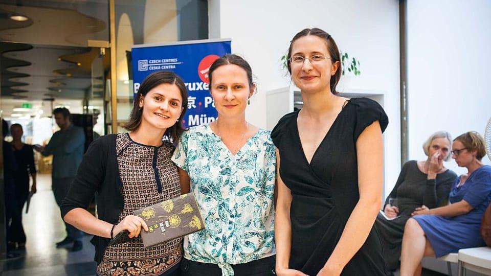 Мария Кристеа из Румынии,  Анна Болава и Агата Вробел из Польши,  Фото: Анна Плеслова,  опубликовано с согласия Петры Юнгвиртовой