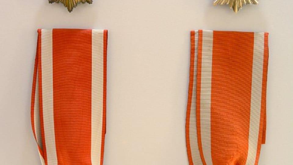Коллекция Чехословацких орденов Белого льва,  Армейский музей Жижков,  фото: Эва Туречкова