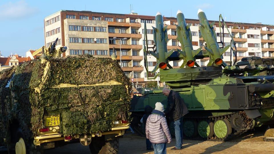 Ракетная техника Армии Чешской Республики,  фото: Клара Стейскалова
