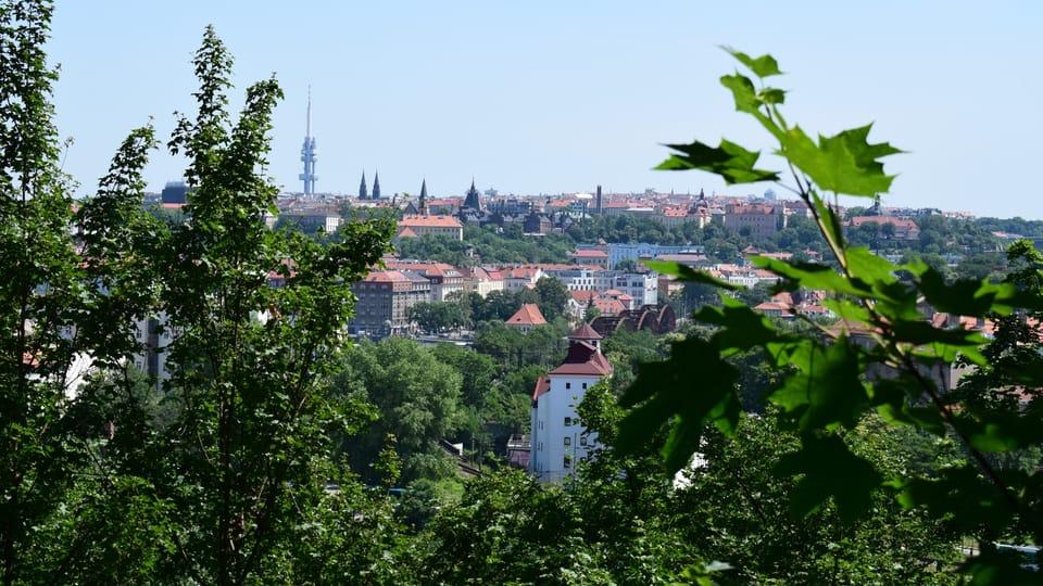 Вид с Сантошки,  Фото: Екатерина Сташевская,  Чешское радио - Радио Прага
