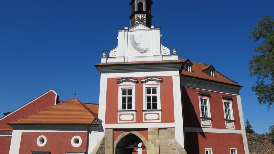 Замок Шкворец,  Фото: Катерина Айзпурвит,  Чешское радио - Радио Прага