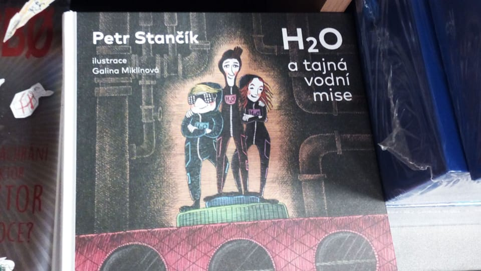 Книга Петра Станчика «H20 и секретная водяная миссия»,  фото: Юлия Маслова