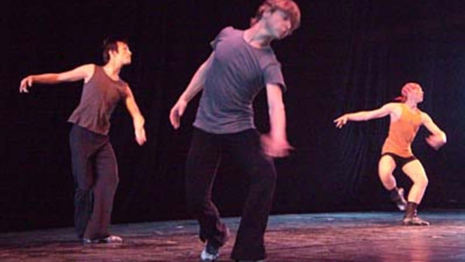 Государственный мужской балет - репетиция
