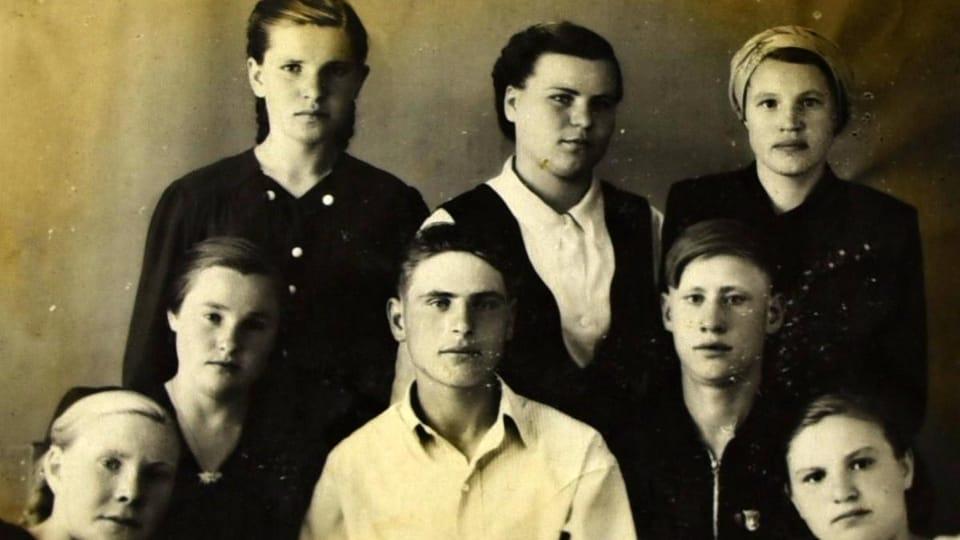 Členové rodiny Jirsákovy na dobové fotografii,  repro foto: Tomáš Vlach,  Český rozhlas