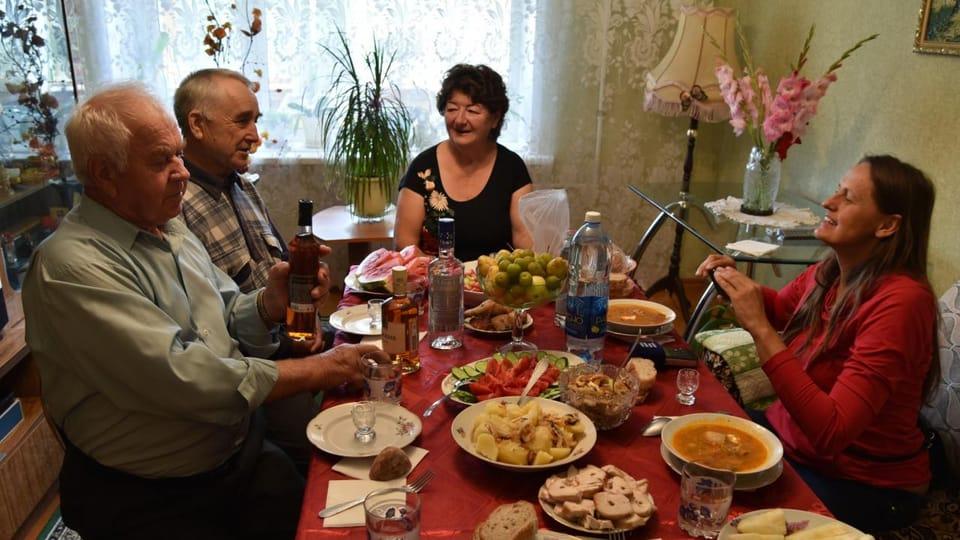 S panem Jirsákem u slavnostního oběda,  foto: Tomáš Vlach,  Český rozhlas