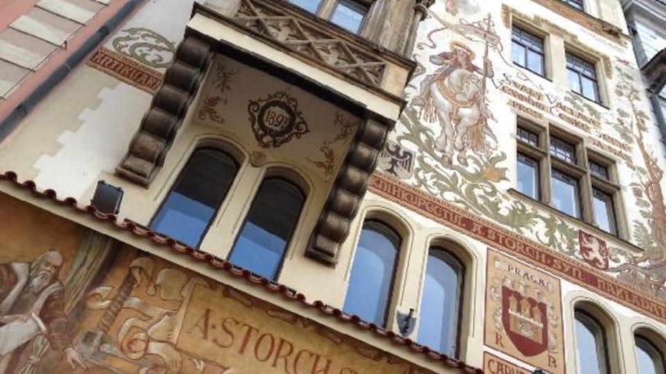 Дом издателя Шторха,  где Кафка работал помощником адвоката,  фото: Олег Фетисов