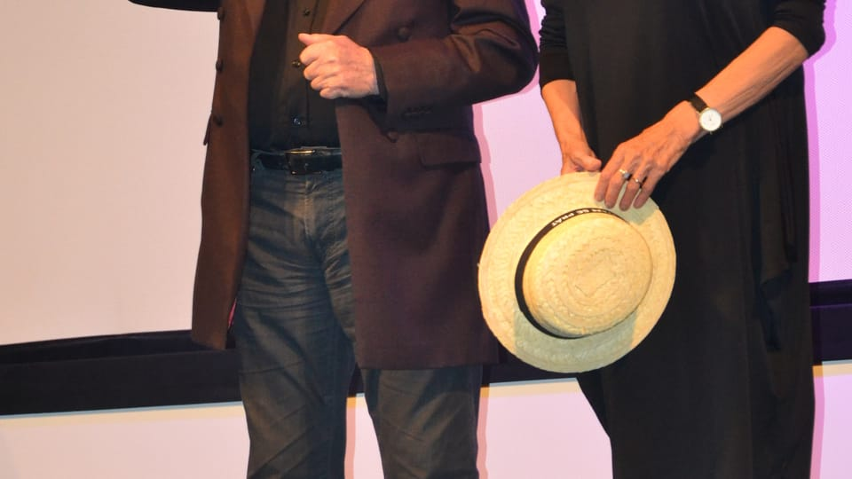 Jiří Suchý и Olga Sommerová,  фото: Владимир Забранский