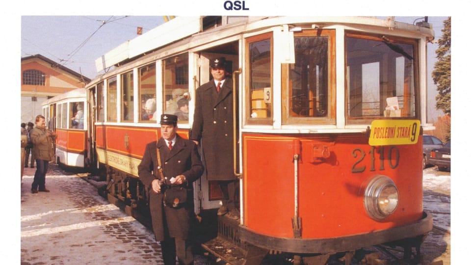 Исторический трамвай,  модель Т2110,  Фото: Станислав Пешка,  ЧТК