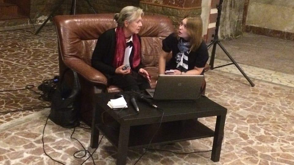 Беседа с Геленой Тршештиковой,  Фото: Катерина Айзпурвит,  Чешское радио - Радио Прага