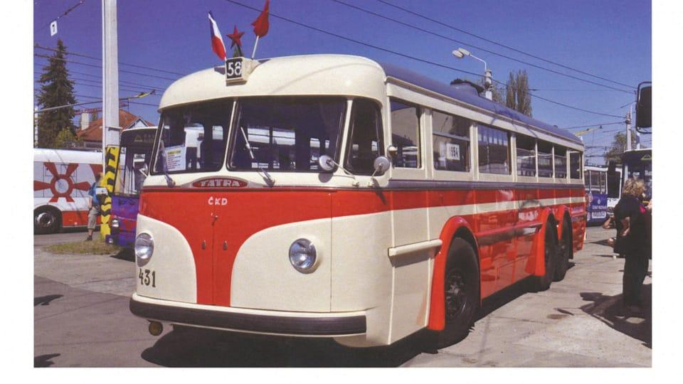 Троллейбус Т-400,  Фото: Ростислав Калоусек,  ЧТК