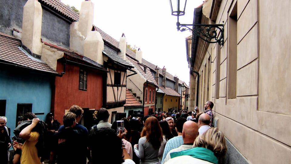 Злата улочка,  где снимала дом сестра Франца Кафки Оттла,  фото: transient musket,  Flickr,  CC BY-NC-ND 2.0