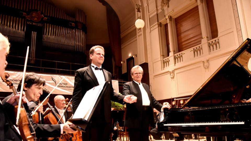 Ян Симон и Владимир Федосеев,  фото: Ян К. Челиш