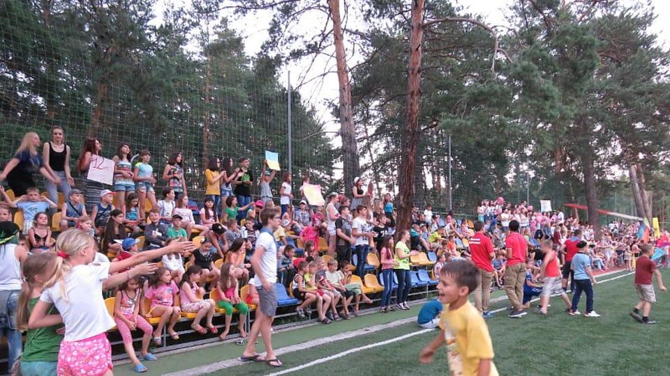 Детский лагерь «Перлина Донеччини»,  Фото: Роман Маца
