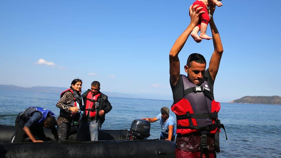 Миграционный кризис,  Фото: Ян Шибик