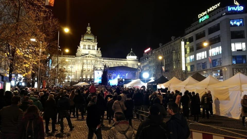Вацлавская площадь в Праге,  фото: Штепанка Будкова