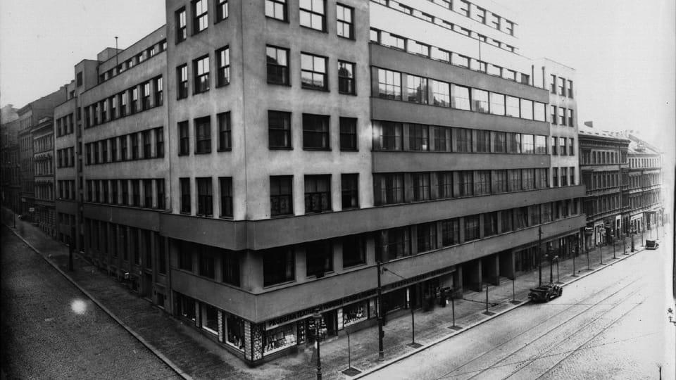 Главное здание «Чешского Радио» в Праге на Виноградском проспекте  (Vinohradská třída). Фото: Архив ЧРо