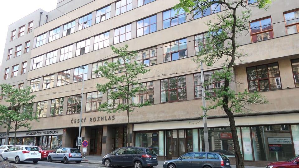 Главное здание «Чешского Радио» в Праге на Виноградском проспекте  (Vinohradská třída). Фото: Ленка Жижкова