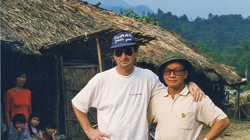С коллегой во Вьетнаме,  фото: архив Яна Воржишека