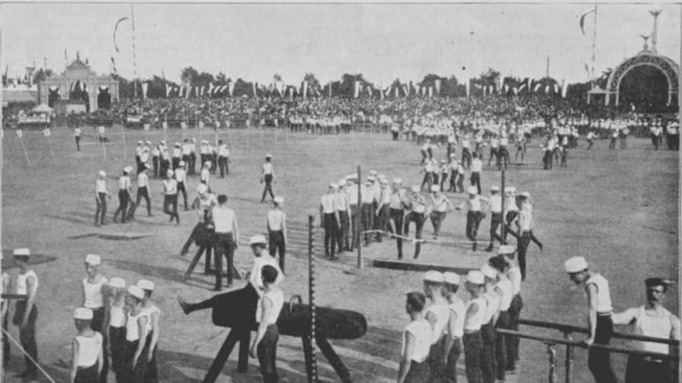 III Всесокольский слет в 1895 г.