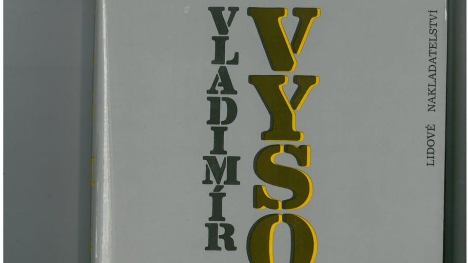Владимир Высоцкий,  перевод Яны Моравцовой,  издательство Lidové noviny в 1988 году