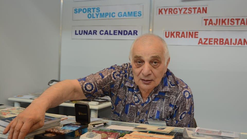 Один из участников выставки,  Фото: Эва Туречкова