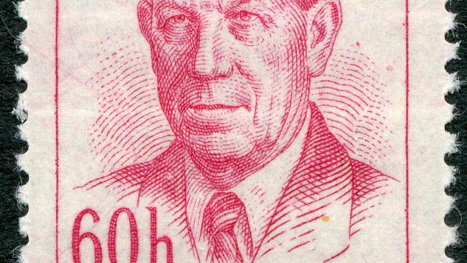 Антонин Запотоцкий,  фото: Почтового музея Праги