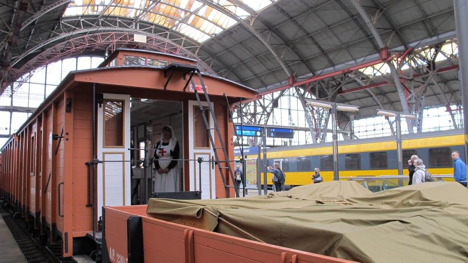 «Легиопоезд»,  фото: Кристина Макова,  Архив Чешского Радио - Радио Прага