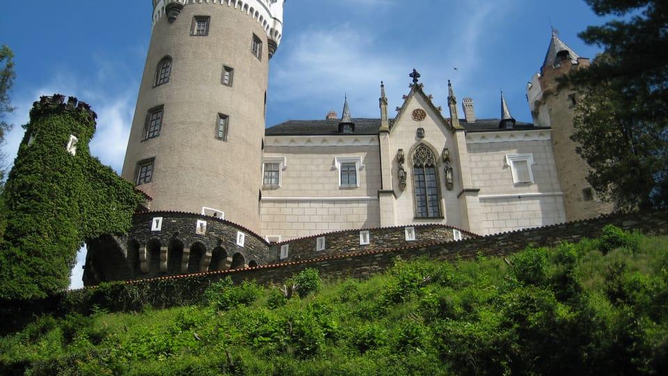Замок Жлебы,  фото: Архив Чешского радио - Радио Прага