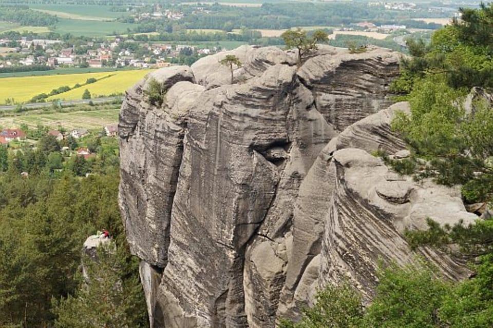 Пршигразские скалы близ Драбских светничек,  фото: Архив Чешского Радио - Radio Prague International