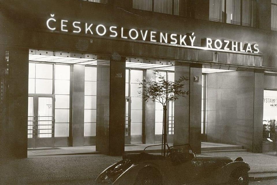 Здание Чехословацкого,  ныне Чешского радио | Фото: APF Český rozhlas